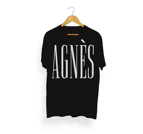 T-shirt Agnès, noir