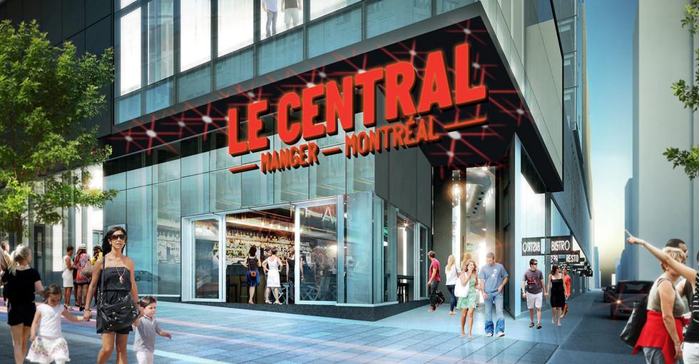 Le Central, Centre-Ville de Montréal