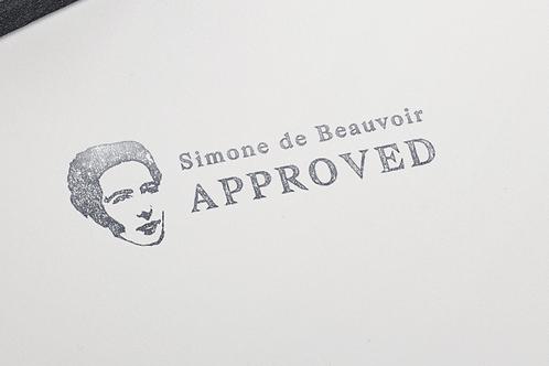 Étampe Simone de Beauvoir
