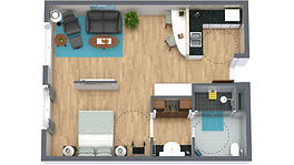 senior move floor plan