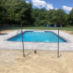 Job done ✅ pool deck with Beacon Hill Fl