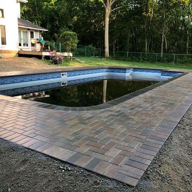 Pool deck !! #ajmotasconstruction #pools
