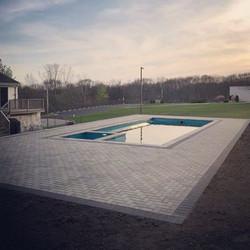 Pool deck ! #ajmotasconstruction #perfec