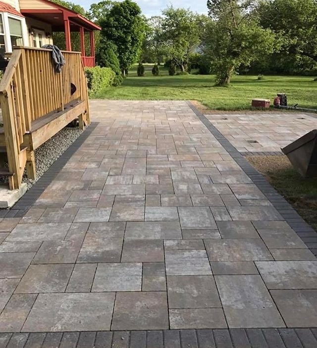 #ajmotasconstruction #hardscape #thebest
