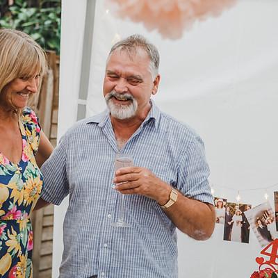 Caz & Graham 40th Wedding Anniversary