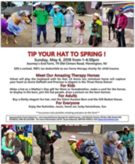Team Velvet 2018 Tip Your Hat to Spring
