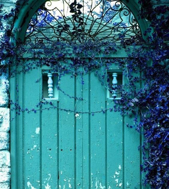 Aquamarine Door