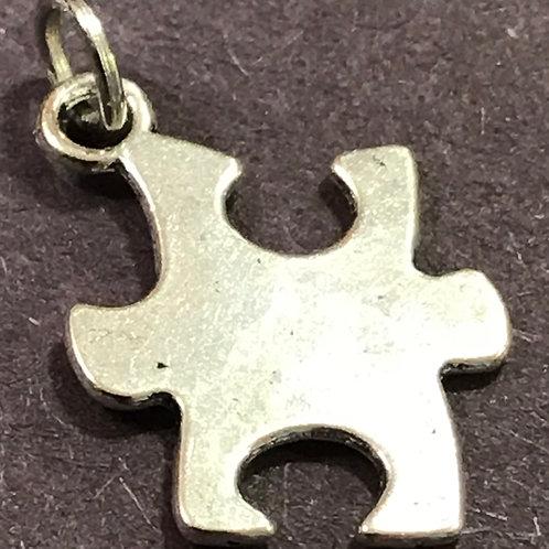 Autism Puzzle Charm