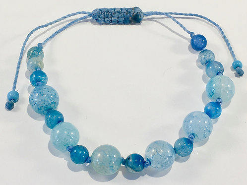 Blue Fire Agate Therapy Bracelet