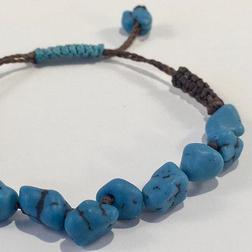 Turquoise Gemstone Therapy Bracelet