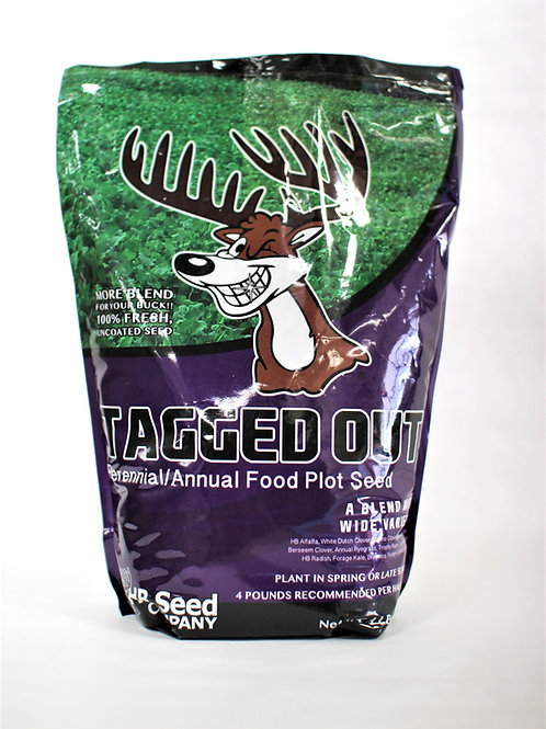 Tagged Out Perennial/Annual Food Plot Seed