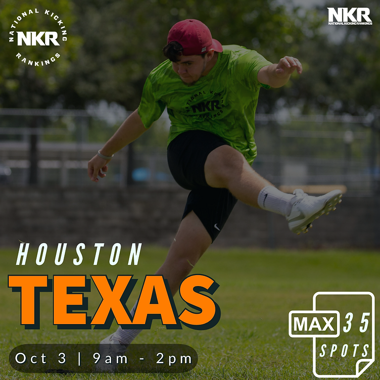 Houston, TX | Oct 3 NKR Camp