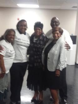 Loretta Ausby, CEO & Mildred Gaddis