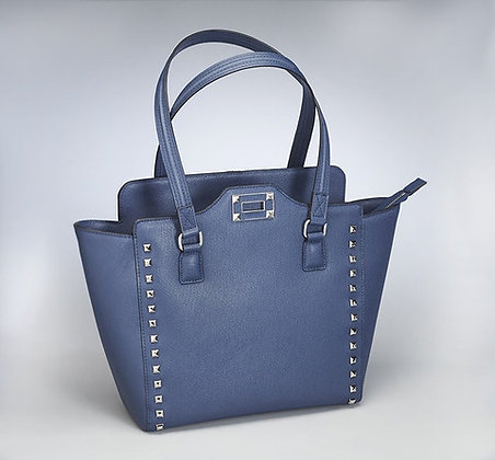 GTM-77 Blue Studded Tote