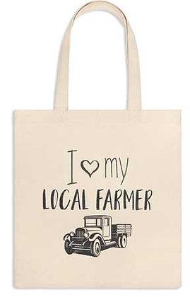 Love My Local Farmer tote