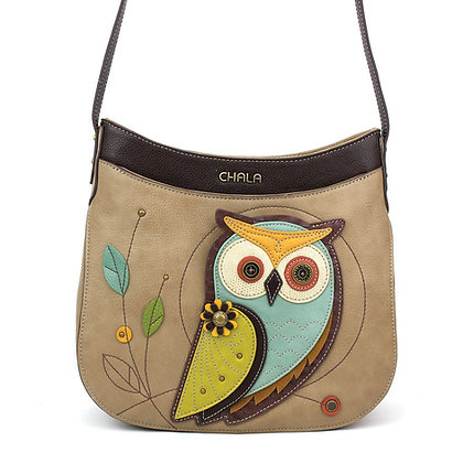 Chala Owl Crescent Crossbody