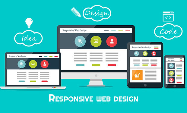 responsive-web-design-flat-vector-techno