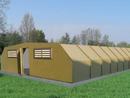 Agritech, il nuovo capannone modulare in vetroresina