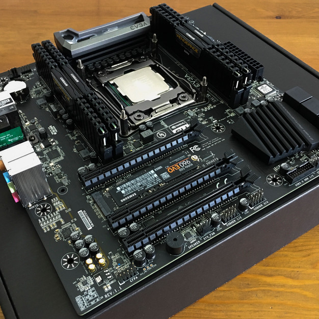 Outfitted Motherboard