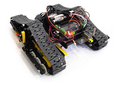 Tank Rover Rear View (Arduino Variant)