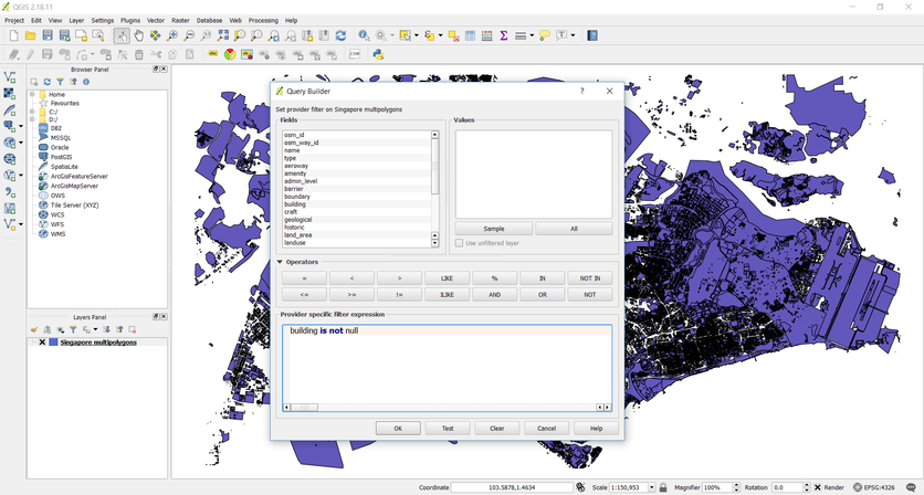 Manipulating Geographical Data with OpenStreetMap and QGIS