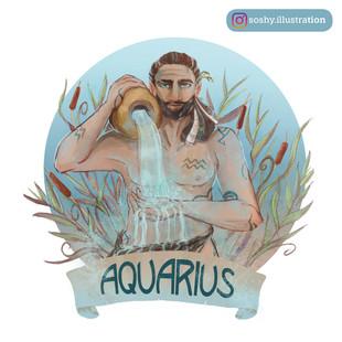 AQUARIUS // STARSIGNS