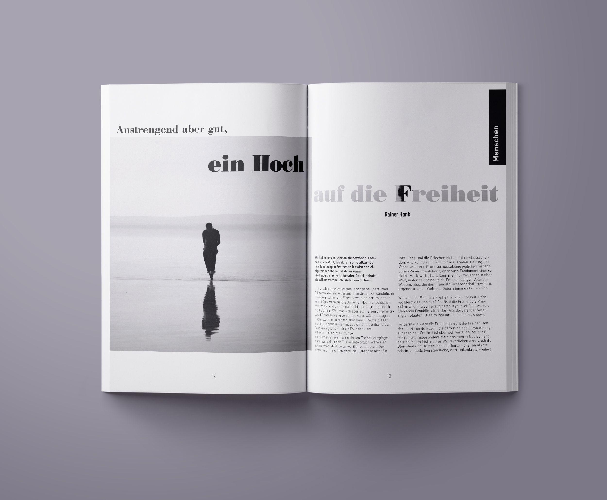 Magazin Layout 3