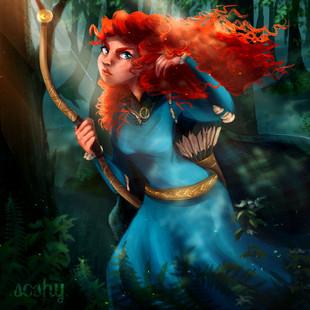 "Merida -""Brave"""