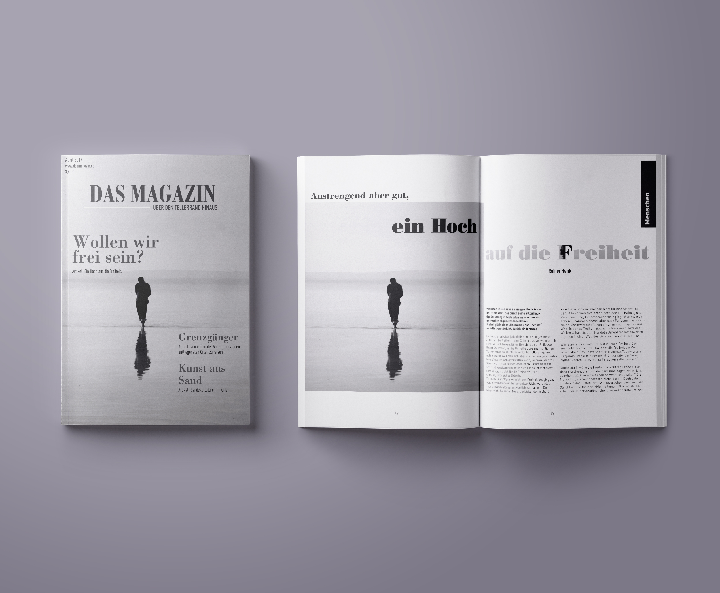 Magazin Layout 2