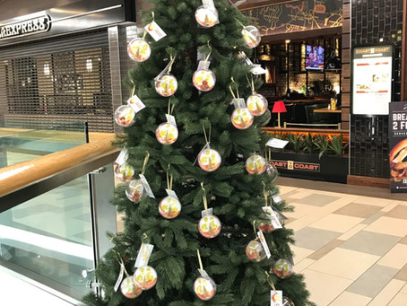 Giving Tree at Union Square Shopping Mall