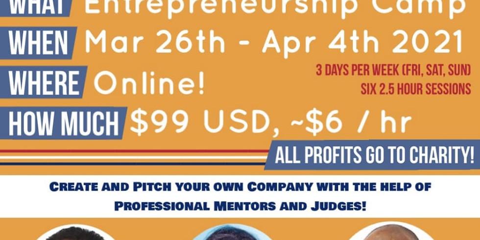 Nebula Entrepreneurship Camp | March Cohort