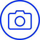 Camera icon, Promotion Strategy icon, Adting, Social Media Marketing