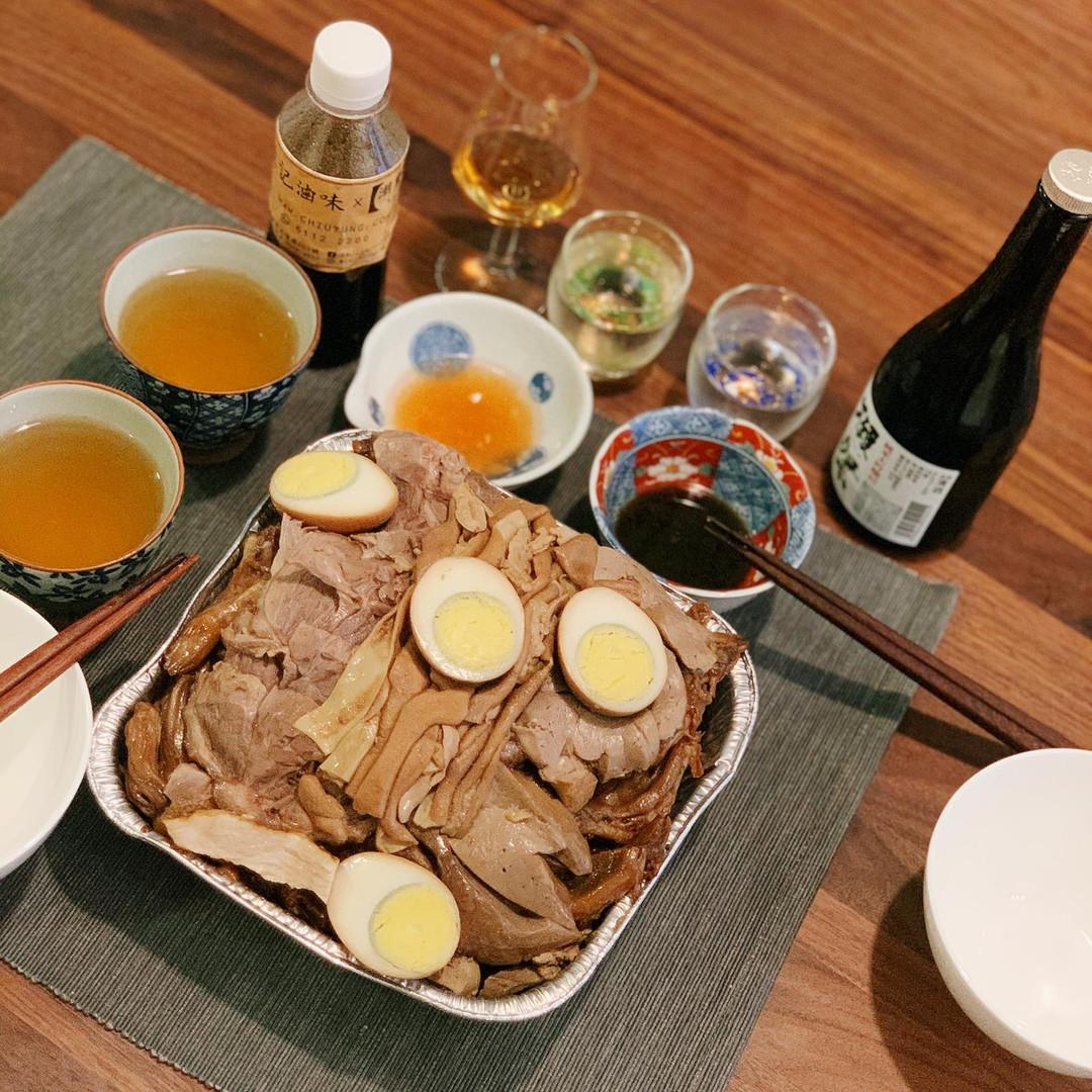 潮童食品滷味配清酒