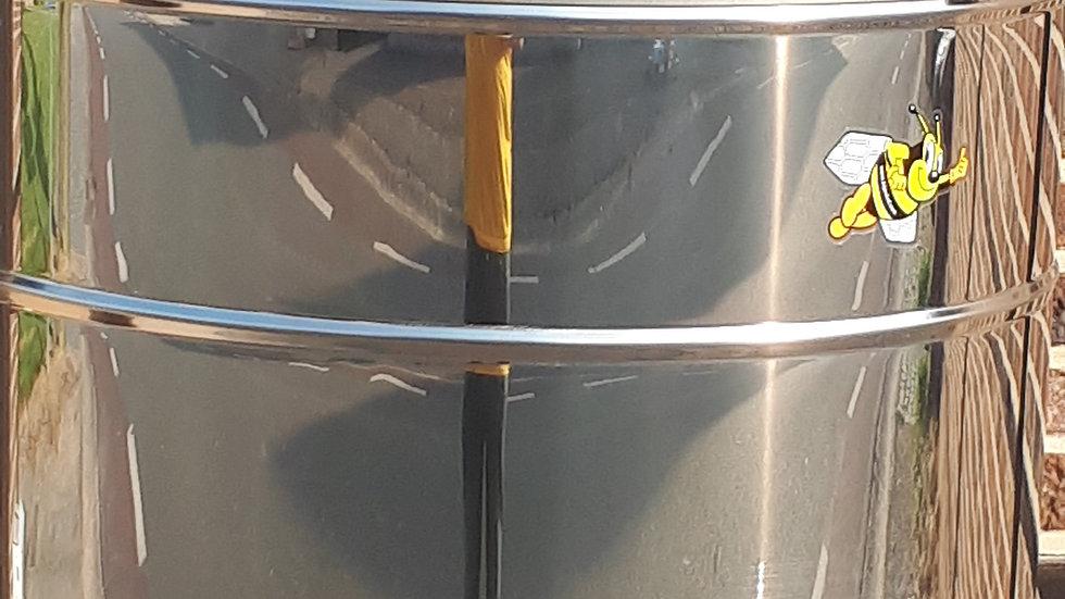 4 raams honingslinger ø 630 motor 110 watt + ce