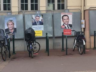 It's a Macron versus Le Pen final