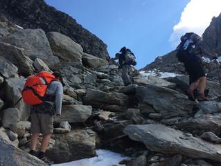 Seeking refuge in the Alps
