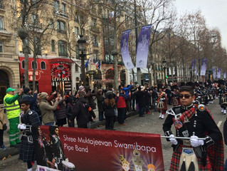 Bonne année celebrations in Paris: What a way to spend the first day of 2017!