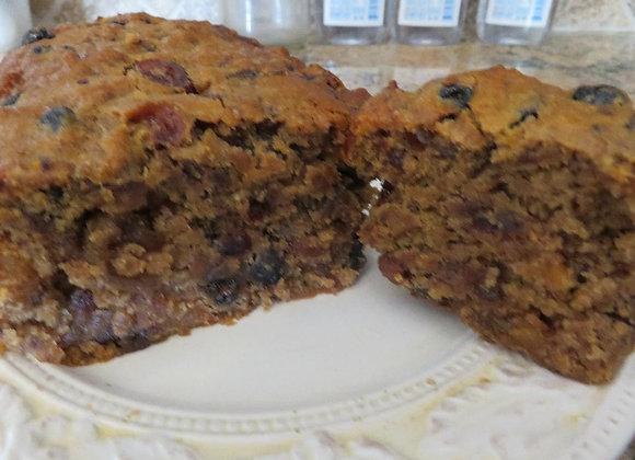 Debbie's Vegan Fruitcake