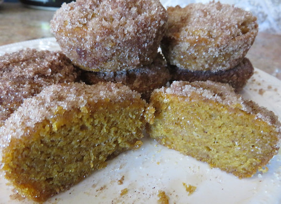 Vegan and Gluten Free Pumpkin Spice Muffin
