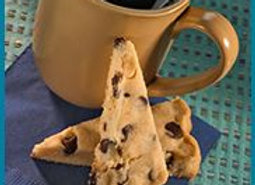 Macadamia Nut Dark Chocolate Chip Shortbread
