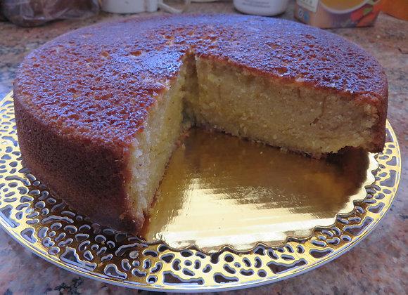 Grand Marnier Macadamia Nut Oil Cake