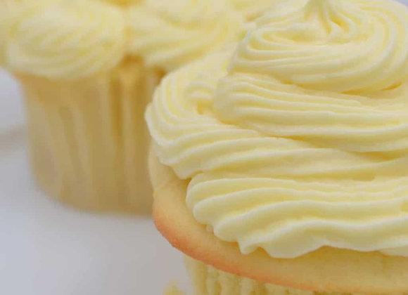 Lemoncello Cupcake with Lemon Curd Filling