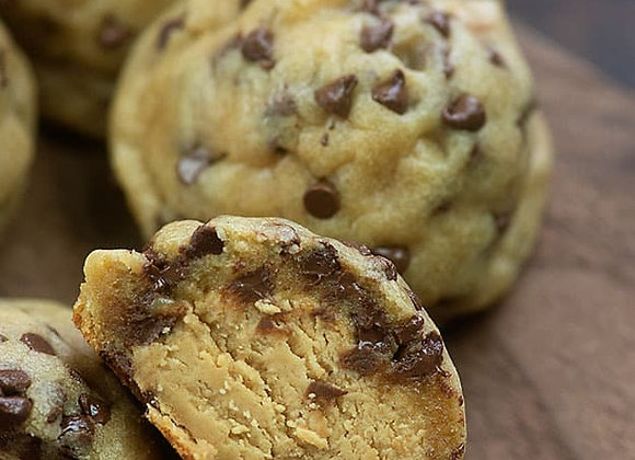 Peanut Butter Stuffed Cookies