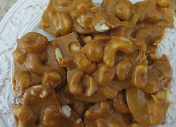 Cashew Macadamia Nut Brittle