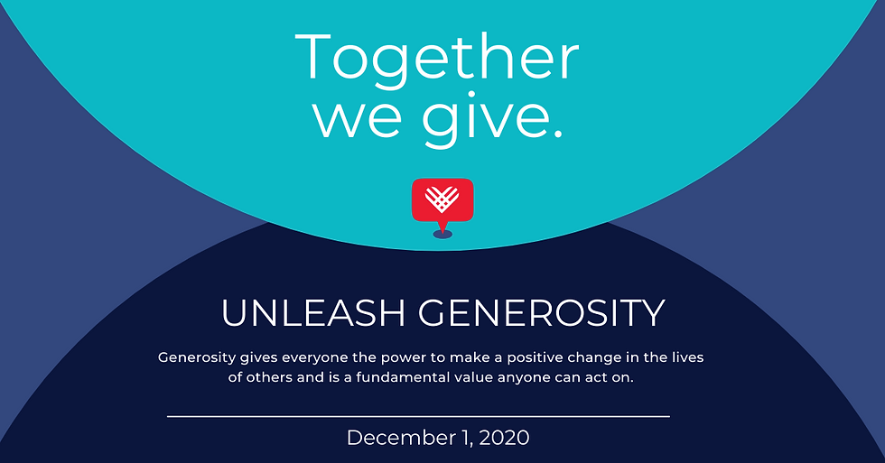 Giving Tuesday Unleash Generosity