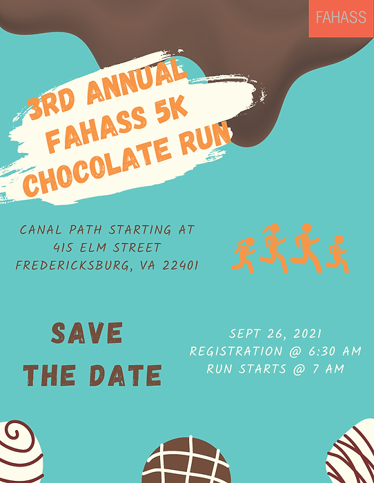 5K Chocolate Run Save the Date