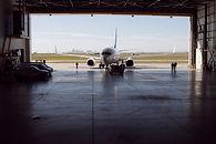 Hangar d'avion