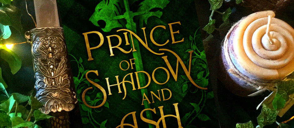 COVER REVEAL-Prince of Shadow & Ash