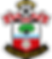 SOUTHAMPTON FC CREST Full colour - White