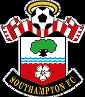 SOUTHAMPTON FC CREST Full colour - White